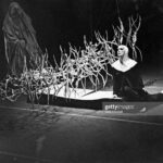 """Martha Graham's """"A Time of Snow"""" performance, 1966. (Photo by Jack Mitchell/Getty Images)"""